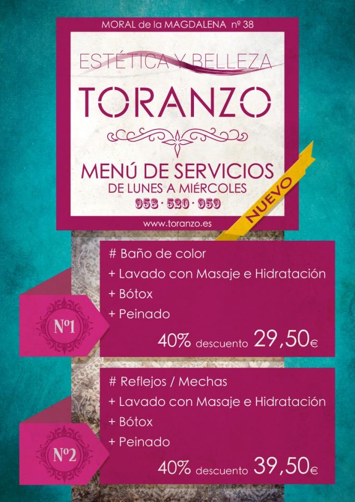 Estetica y Belleza en Toranzo Peluqueros