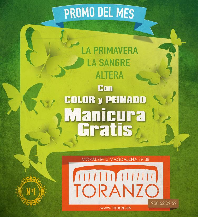 Promo primavera Toranzo Peluqueros