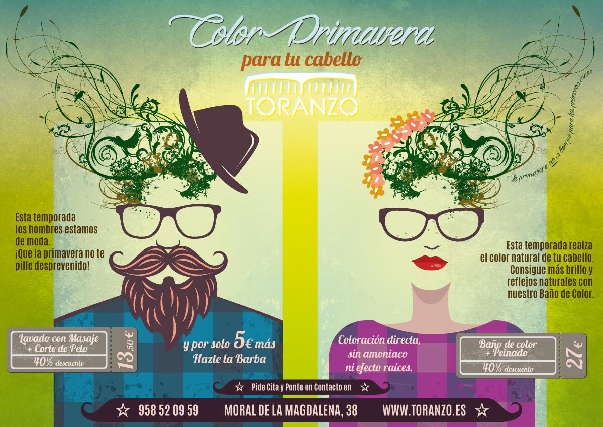 Color Primavera para tu cabello Toranzo Peluqueros